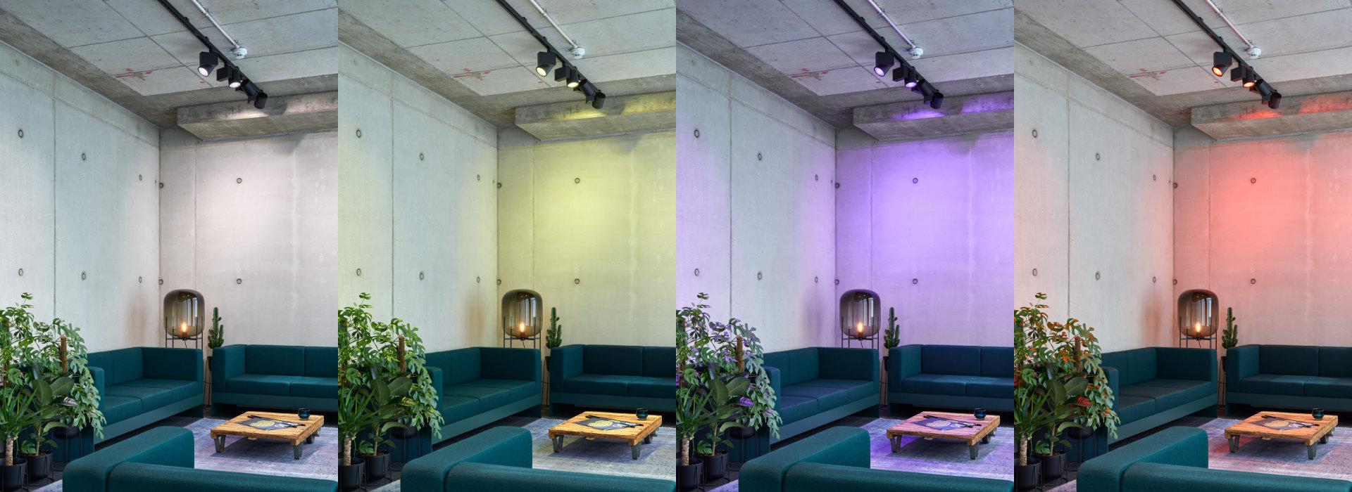 LED ARTIST RGBTW Stromschienenstrahler ENDLIGHT Lichtobjekte GmbH