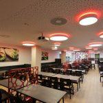 LED FLAIRPOINT Deckenleuchte mit RGB Korona - ENDLIGHT Lichtobjekte GmbH - Projekt Klinikum Vest Recklinghausen