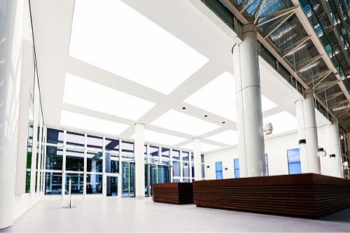 Produktgruppe ENDLIGHT Lichtobjekte GmbH - LED Lichtdecken mit Spanntuch